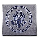 Message Brands St. Michael Army Sweatshirt Blanket