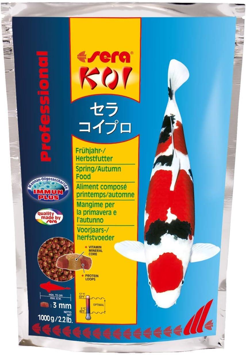 Sera 7012 KOI Professional Spring/Autumn 2.2 lb 1.000g Pet Food, One Size