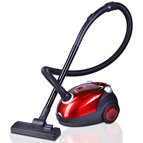 3. Inalsa Spruce Vacuum Cleaner-1200W for Home with Blower Function, 2L Reusable dust Bag, 2 years warranty, (Red/Black)