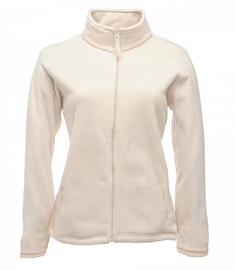 M&S Soft Zippered Long Sleeve Lightweight Fleece Jacket. Sizes 8 ...