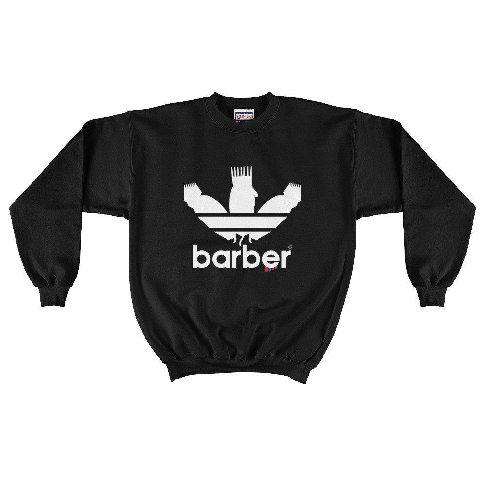 Classic Barber Sports Logo Mens Crewneck Sweatshirt dark sweatshirts