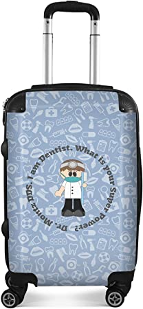 Dentist Suitcase 20 Carry On Personalized