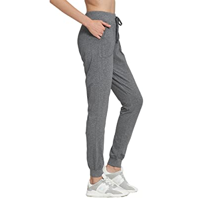 OCIESS Women's Cotton Athletic Joggers Pants Sweatpants with Pocket