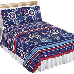 61SjB2EKHaL._SS300_ Nautical Bedding Sets & Nautical Bedspreads