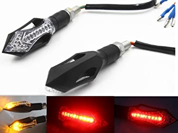 Dlll 2x 14led Front Turn Signal Lights Indicator