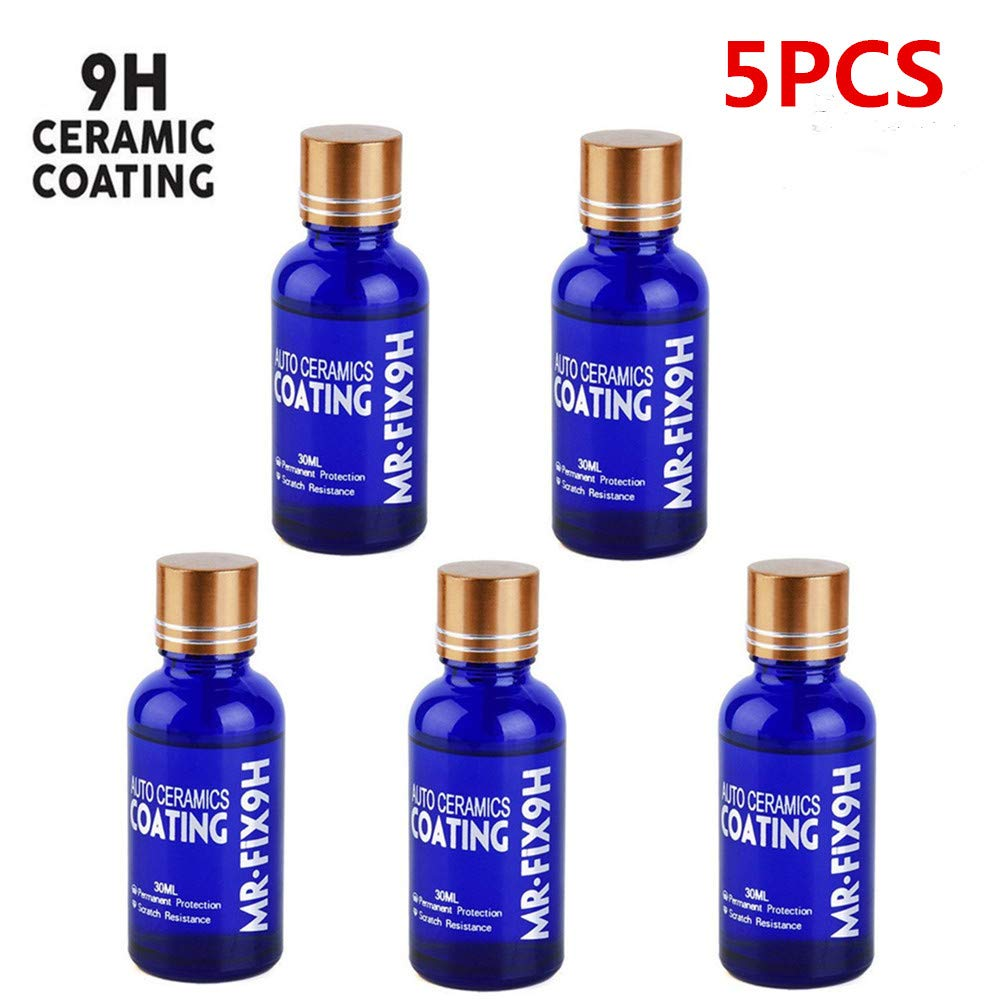 Car Ceramic Coating 9h Car Ceramic Coating Kit Anti-Scratch Car Polish Car High Gloss Ceramic Coat Auto Detailing Glass Coat Care Super Hydrophobic Glass Coating 30ml (3PCS) Hete-supply