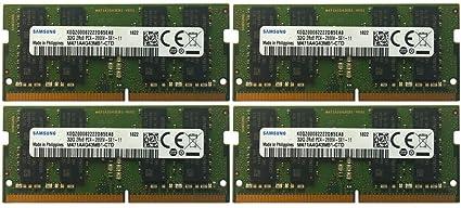 M/ódulo de Memoria DDR4-2666 SO-DIMM 32 GB, 260 Pines, 2666 MHz, PC4-2666V-S Samsung 2x32GB