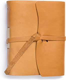 product image for Rustico Leather Good Book w/Wrap Buckskin