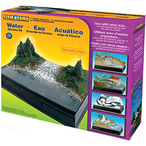 Woodland Scenics SP4113 Scene-A-Rama™ Water Diorama Kit, Multicolor