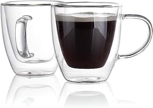 Amazon.com: Sweese 4610 tazas de café de vidrio de café ...