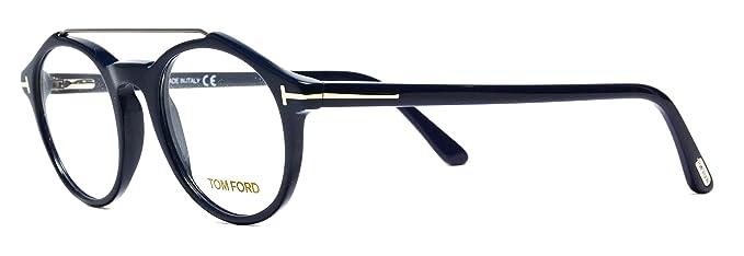 bba2b2632d Amazon.com  Eyeglasses Tom Ford FT5455 V 090 blue frames Size 48 20 ...