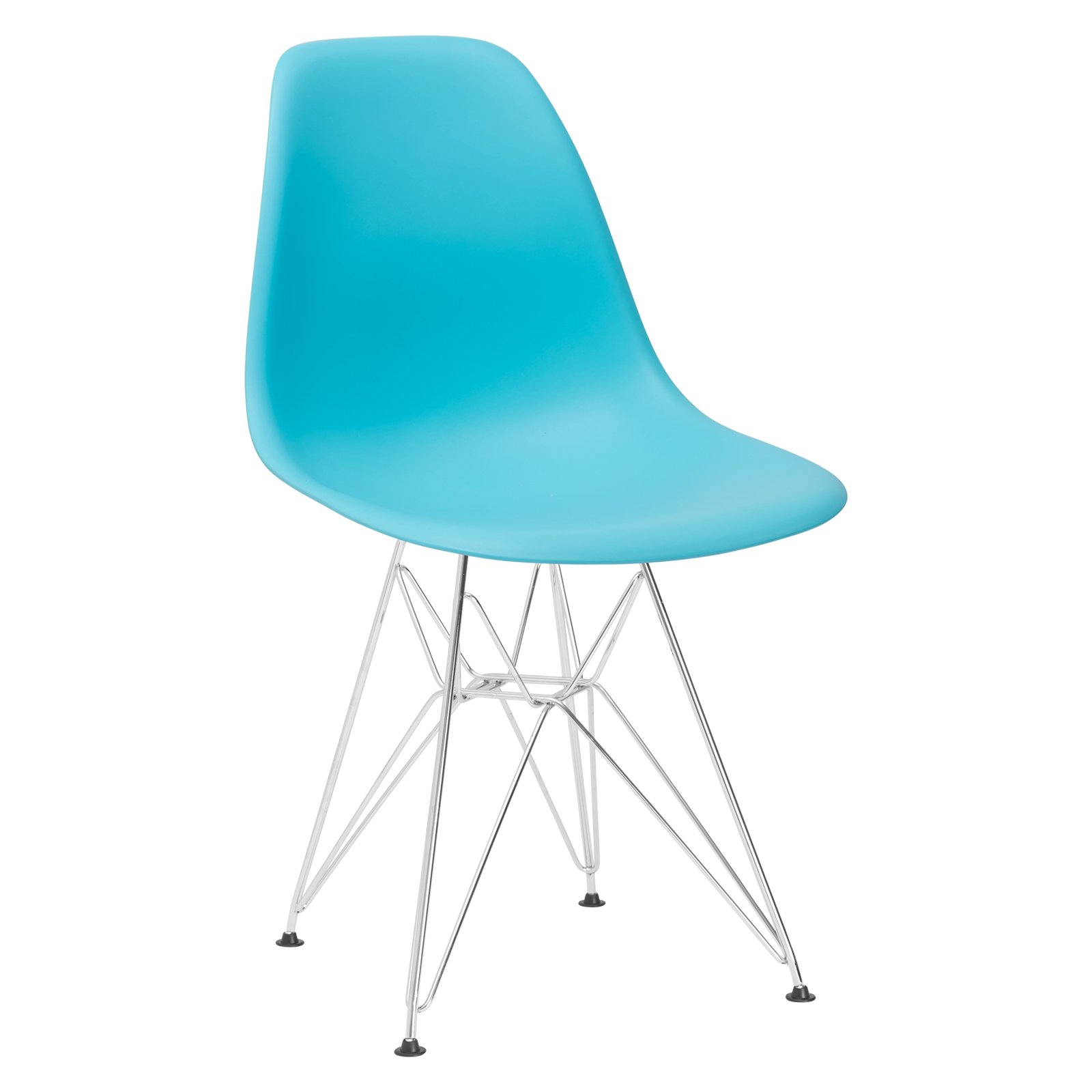 Poly and Bark Padget Side Chair in Aqua