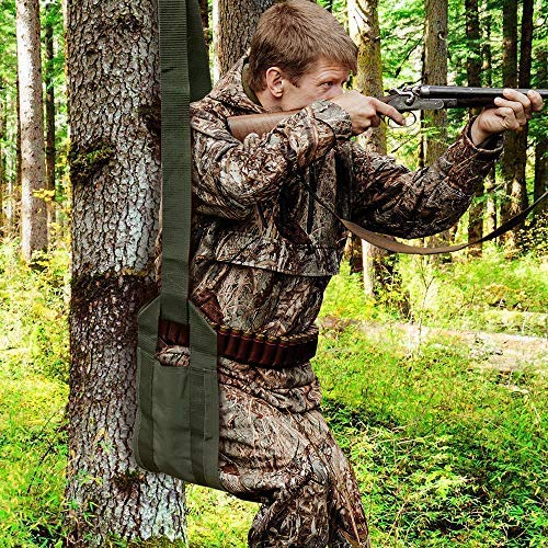 (Sit Drag Special Compact Portable HUNTING TREE SEAT Deer Stand Sling Drag )