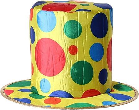 Blesiya Nuevo Sombrero de Payaso de Copa de Tela Decoración para ...