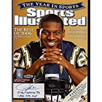 $137 » LaDainian Tomlinson Signed Sports Illustrated Magazine San Diego Chargers 31 TD's + 2 Passing TD's = 2006 MVP #/21 UDA Stock #74262…