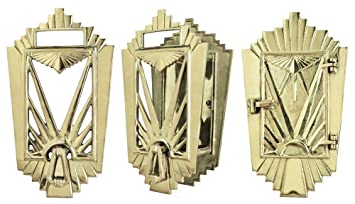 Art Deco Door Grille Speakeasy Set (ZLW 26DEC)