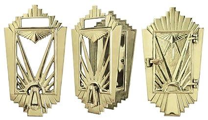 Art Deco Door Grille Speakeasy Set (ZLW 26DEC)
