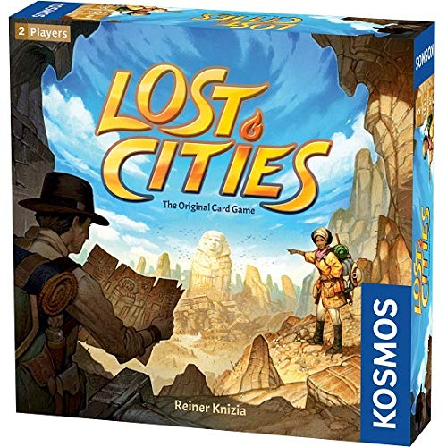 (Thames & Kosmos Lost Cities - The Card Game)
