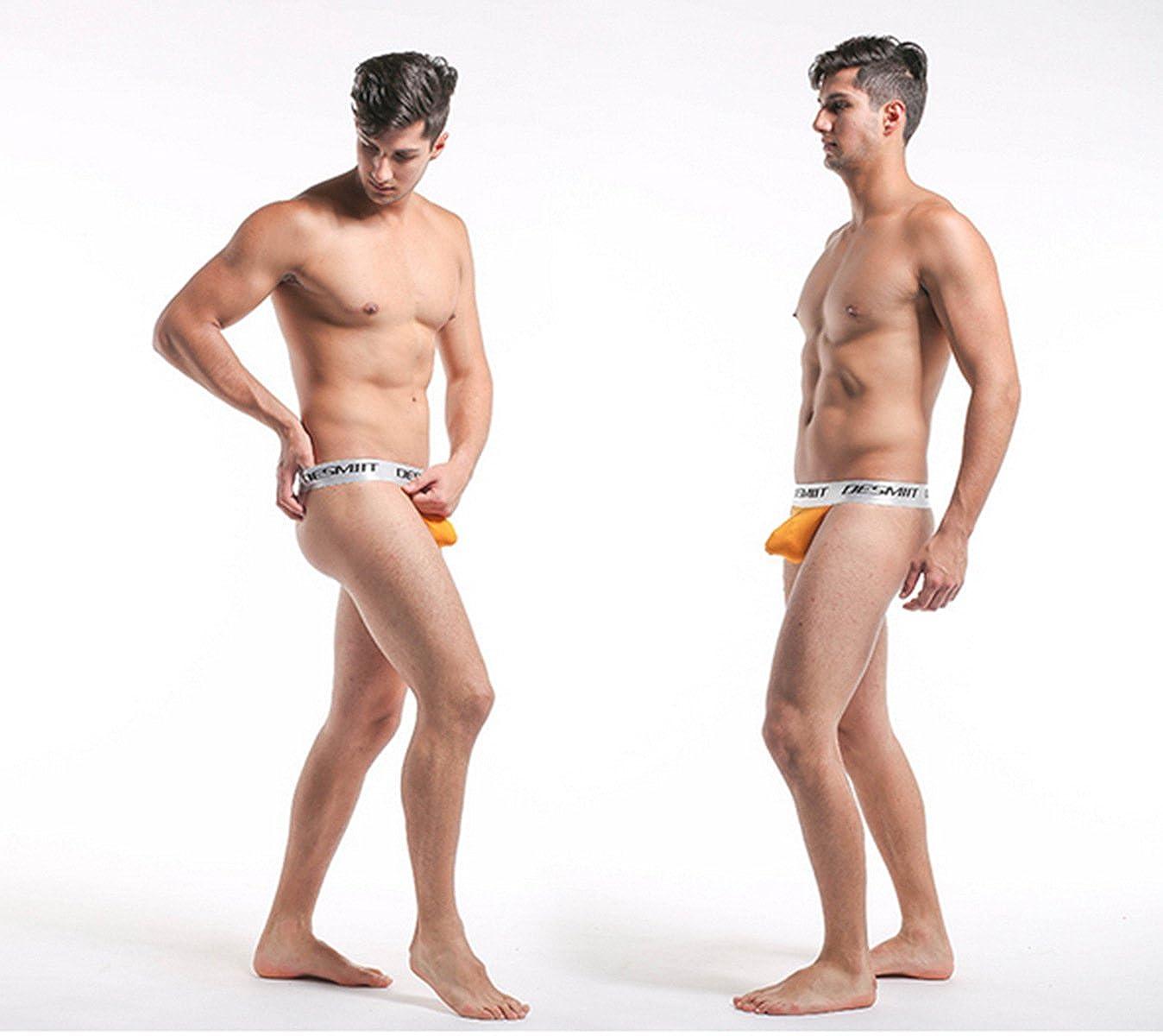 Meijunter Men Hyperelastic Underwear Comfort Low Waist G-string T-back Underpant
