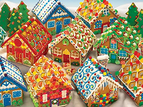 Cobble Hill Gingerbread Houses 400 Piece Family -