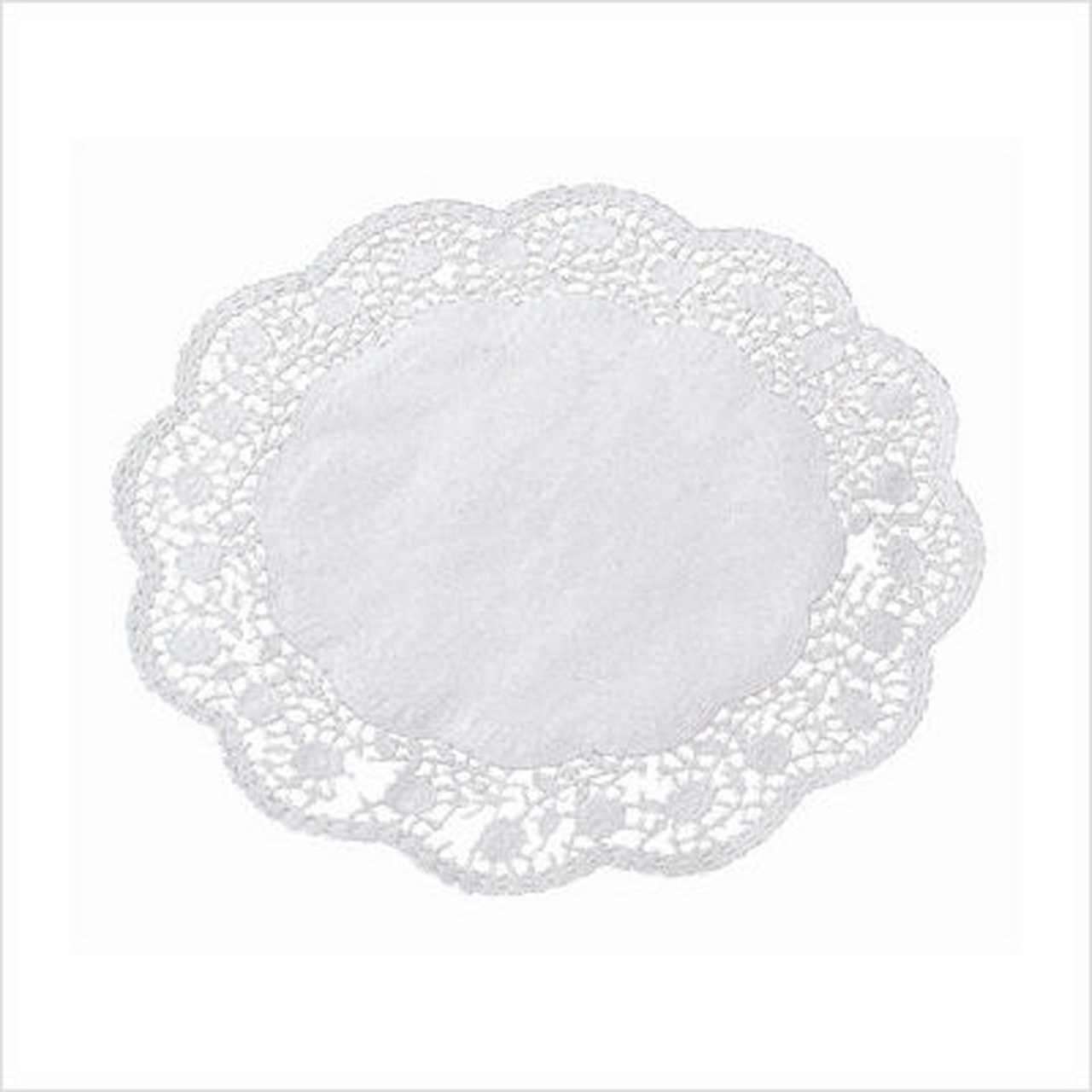 Amazon.com: Paderno World Cuisine Paper Doilies, 16-1/2 Inch, Pack of 100:  Kitchen & Dining