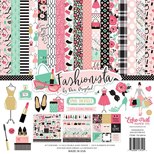 Echo Park Paper Company Fashionista Collection Kit from Echo Park Paper Company