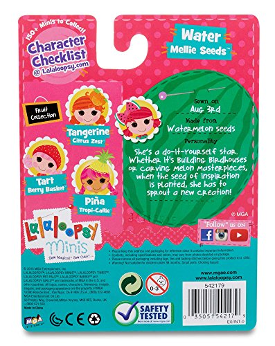 Lalaloopsy Minis Doll- Water Mellie Seeds