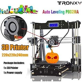 Auto Levelling P802MA High Precision Desktop 3D Printer Kits by