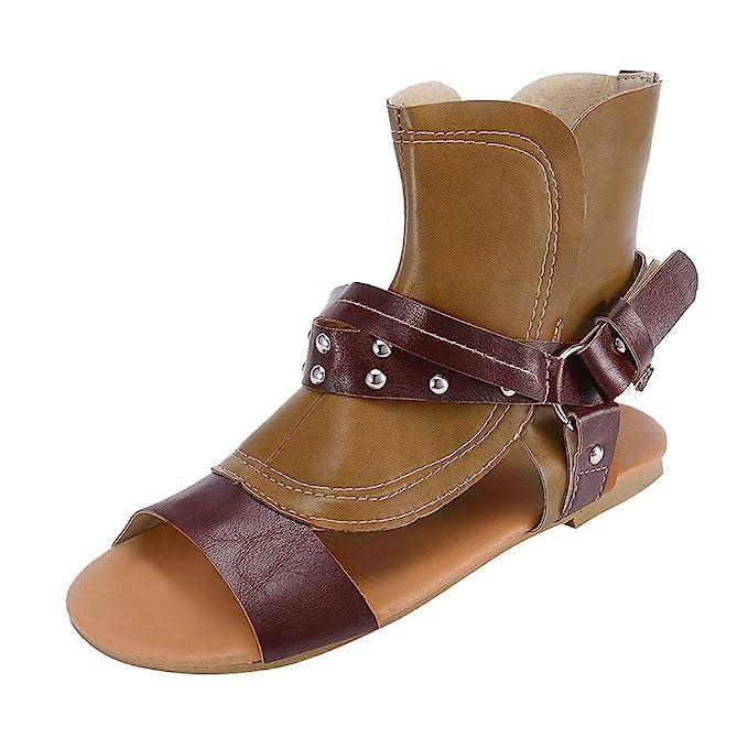 2aeae1d87e64b8 DENER Women Ladies Girls Flat Sandals