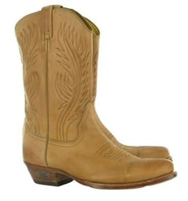 ffb1e1b201b Loblan 194 Tan Beige Leather Cowboy Boots Handmade Classic Men's Western  Boot