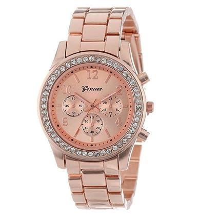 ¡Liquidación!Sonnena - Reloj de pulsera de mujer de acero inoxidable, reloj clásico