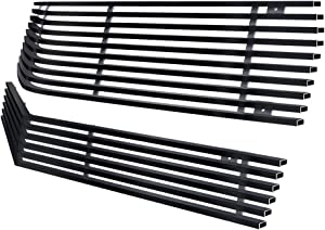 Off Roader eGrille Matt Black Stainless Steel Billet Grille Combo Fits 78-81 Chevy Camaro