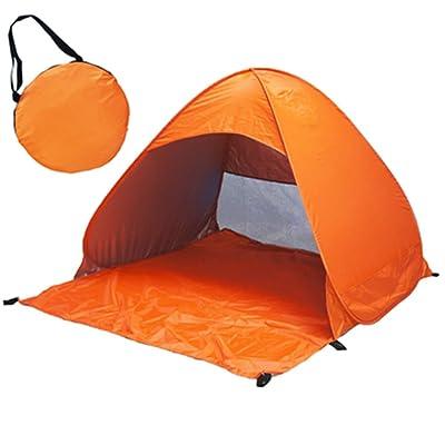 MINGCHEN extérieur pop-up automatique Tente de plage, léger, pour famille avec protection UV 50+, facile Sac de transport, fonctions de résistant au vent