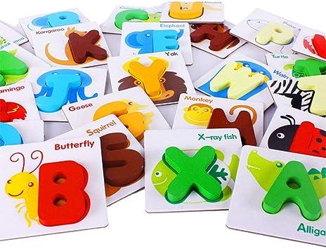 Qys Juegos de Mesa cognitivos de Juguetes ilustrados para bebés para niños pequeños Aprendizaje temprano para bebés: Amazon.es: Deportes y aire libre