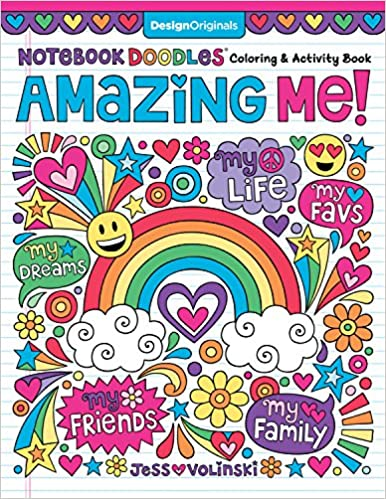 Notebook Doodles Amazing Me!: Coloring & Activity Book (Design ...