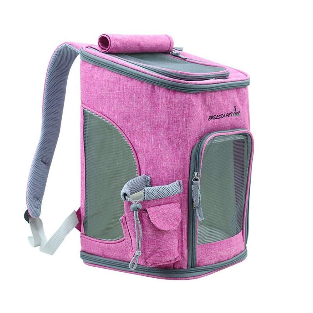 1 432926CM 1 432926CM RedGoodThings Foldable greenical Pet Backpack Out Portable Pet Cat Bag Breathable Dog Backpack Shoulder Bag (color   1, Size   43  29  26CM)