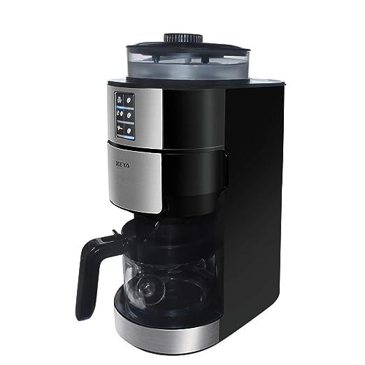 DEEYA Máquina de café con Molino y Preparado, con Molinillo de ...
