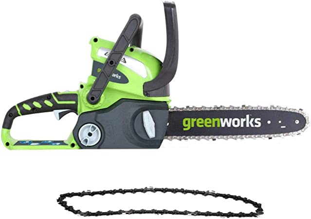 Greenworks 12-Inch 40V Chainsaw, 2.0 Battery & Charger Included 2000219