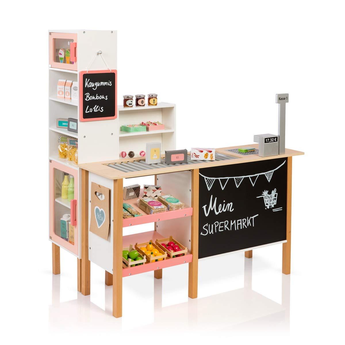 Kaufladen Holz - Musterkind Kaufladen Alnus apricot