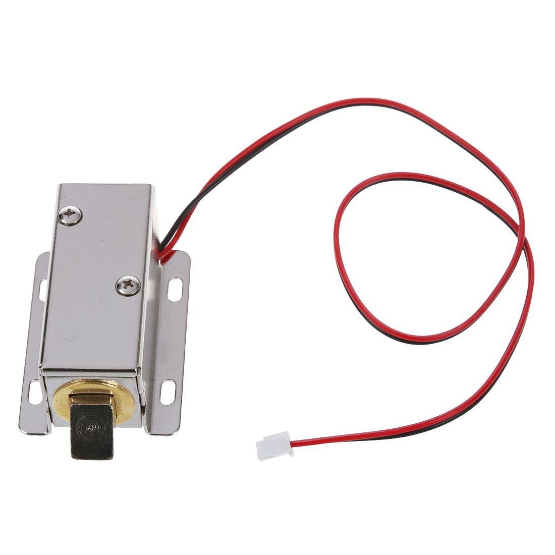 RETYLY RETYLY R 0837L DC 12V 8W Cadre ouvert Type Solenoide pour serrure de porte electrique