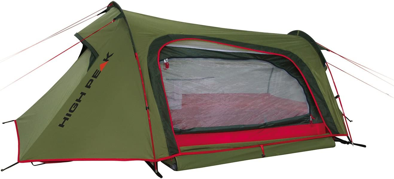 High Peak Sparrow Tent Pesto/Red