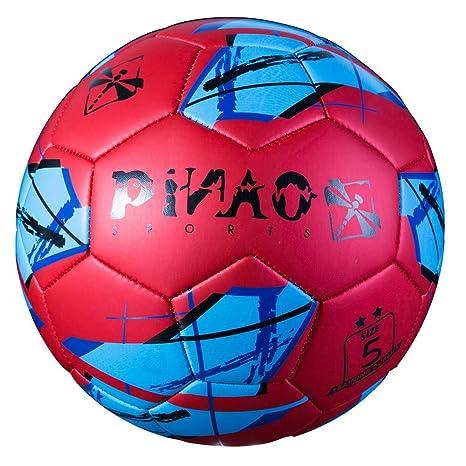 PiNAO Sports - Balón de fútbol (tamaño 5, a Partir de 7 años ...