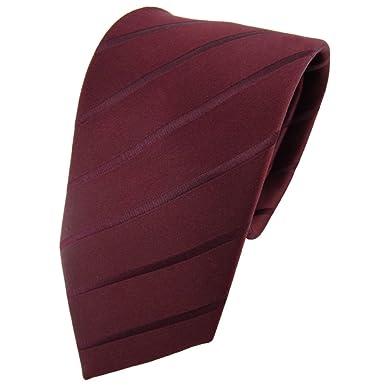ohne Markenname Diseñador corbata de seda - marrón burdeos marrón ...