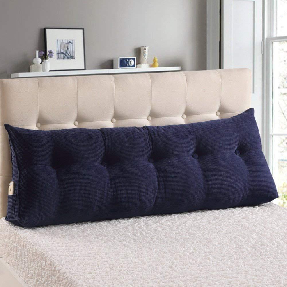 JIANHEADS ベッドサイド三角ウェッジ、読書枕マットクッション取り外し可能背もたれポジショニングサポート枕 (Color : A, サイズ : 150x25x50cm(59x10x20inch)) B07S3F7XCN A 150x25x50cm(59x10x20inch)