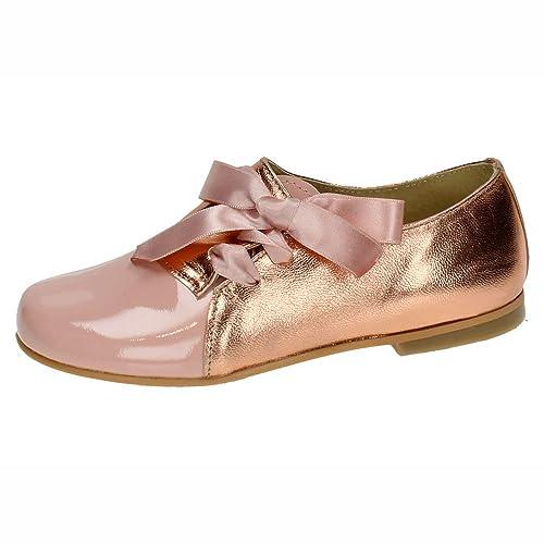 PANYNO E1915 Zapatos DE Piel NIÑA Merceditas Rosa 30  Amazon.es  Zapatos y  complementos 49e2d2afc6c7a
