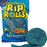 Sour Rips Roll Blue Raspberry Flavor (24 count)