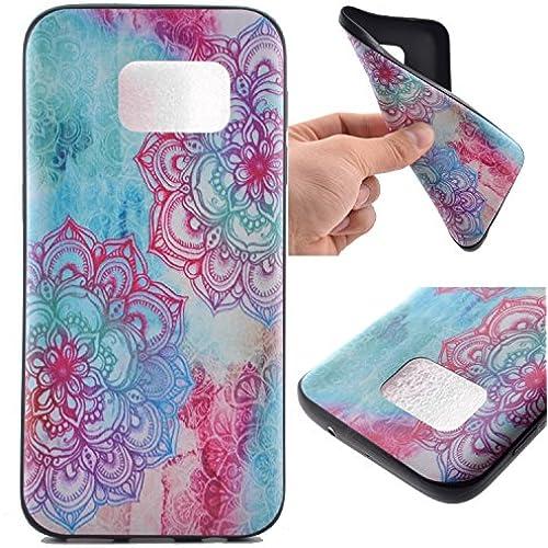 Galaxy S7 Case,S7 Case,FAIRYCASE(TM)Black TPU Soft Case for Galaxy S7 Color Watercolor Sales