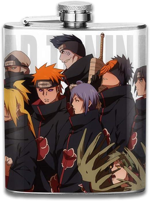 Amazon Com Zegailian Akatsuki Deidara Hidan Itachi Kisame Pain 7oz Stainless Steel Flask Flasks
