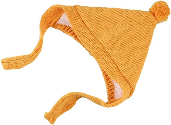 Sharplace Bonnet Tricot Pompon Péruvien Bébé Fille Garçon
