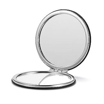 Amazon.com: OMIRO Espejo compacto, aumento redondo de ...